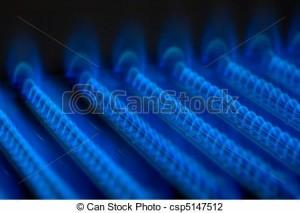 llama azul