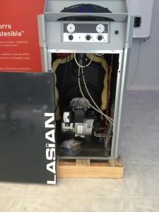 Caldera instantánea de gasoil Lasian Climatherm de 30 kW