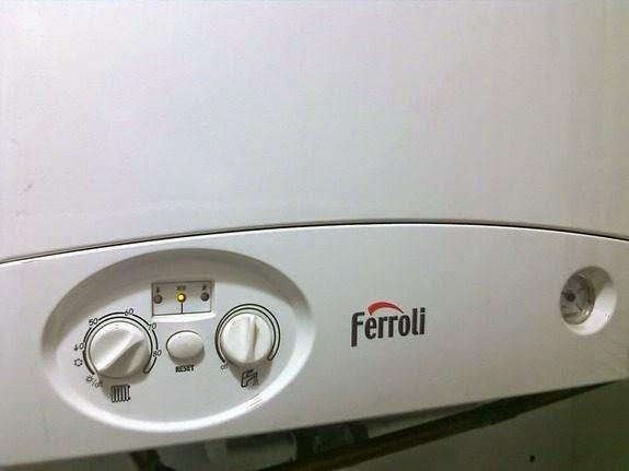 Ferroli calefaccion. Gas natural