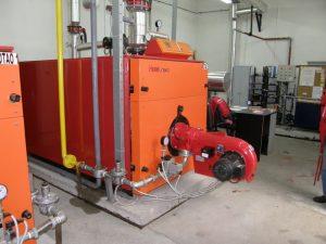 Caldera de gasoil industrial